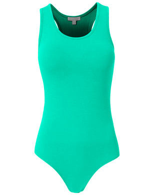 BASIC SLEEVELESS BODYSUIT WITH STRAPS NEWBS02