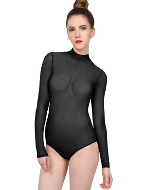 LIGHT WEIGHT BASIC STRETCH FITTED BODYSUIT NEWBS31
