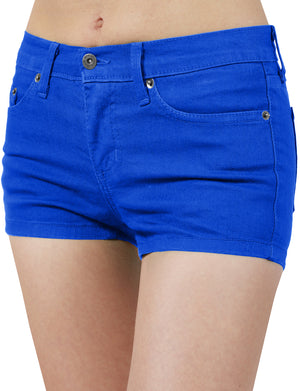 LIGHT WEIGHT COLORED COTTON SHORT PANTS NEWDP09