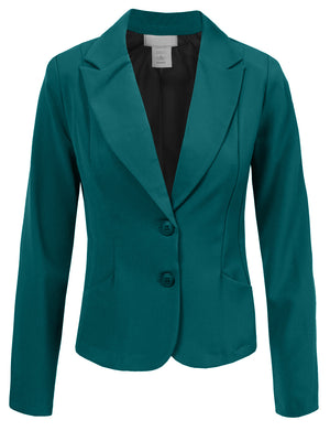 FITTED CLASSIC OFFICE BLAZER JACKET NEWJ04