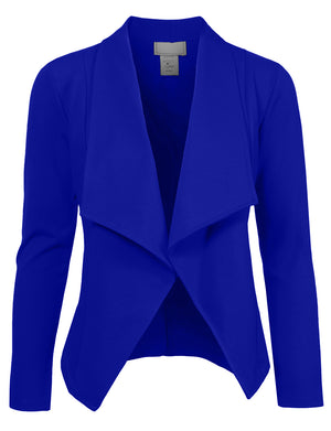 BIG HIGH LAPEL COLLAR BLAZER JACKET NEWJ05