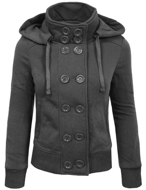 CLASSIC DOUBLE BREASTED PEA COAT WITH BELT NEWJ18