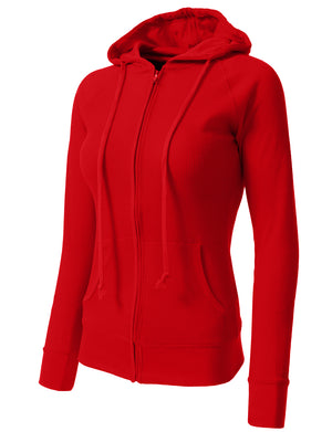 WOMEN CASUAL LIGHT WEIGHT THERMAL/PLAIN HOODIE NEWJ33