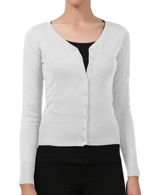 LIGHT WEIGHT SOFT SEE-THROUGH V-NECK CARDIGAN SWEATER NEWJ90 PLUS