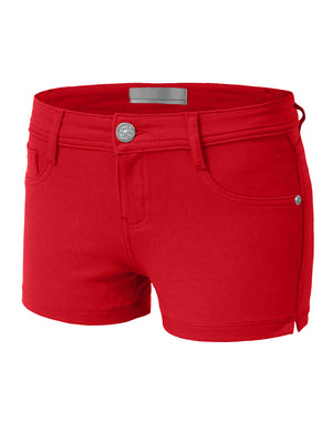 BASIC CASUAL STRETCHY SHORTS PANTS NEWP09