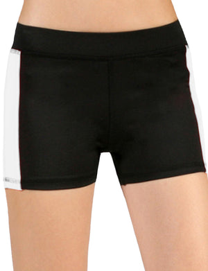 LIGHT WEIGHT SOLID SOFT STRETCH BLOCK WORKOUT SHORT PANTS NEWP24