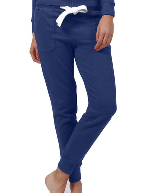 LIGHT WEIGHT FLEECE LONG JOGGER SWEATPANTS WITH WIDE DRAWSTRING NEWP31