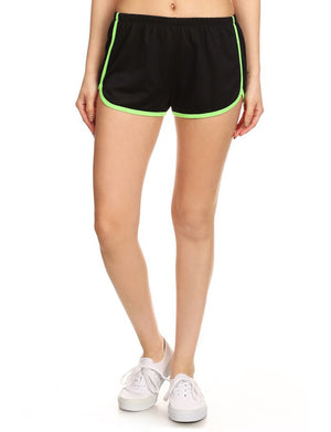 LIGHT WEIGHT TERRY TRACK SHORTS WITH ELASTIC WAISTBAND NEWP34 PLUS