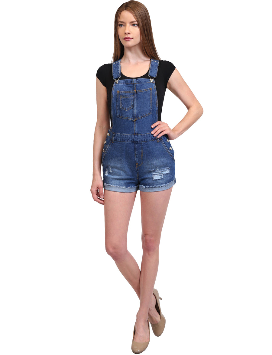 CASUAL VINTAGE SHORTS JUMPSUITS OVERALL NEWP78