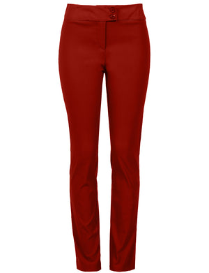 CLASSIC STRETCH STRAIGHT FIT TROUSERS PANTS NEWP85