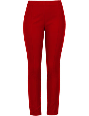 CASUAL SLIM FIT STRAIGHT LEG PULL ON DRESS PANTS NEWP92 PLUS