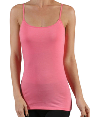 LIGHT WEIGHT BASIC ADJUSTABLE SPAGHETTI STRAP TANK CAMI TOP NEWT127