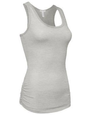 CASUAL ESSENTIAL RACERBACK TANK TOP NEWT14 PLUS