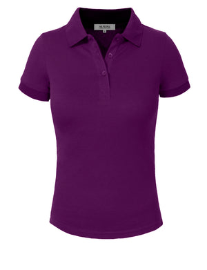 BASIC SOLID PIQUE POLO SHIRTS NEWT30