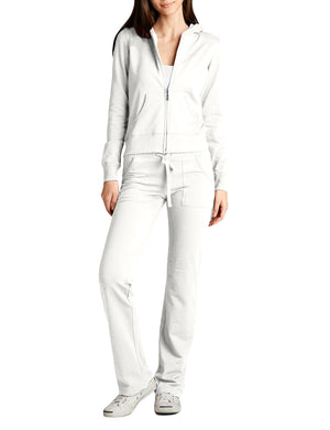 HOODIE AND SWEATPANTS TRACKSUIT SET