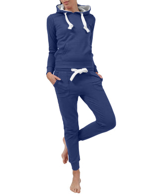 LIGHT WEIGHT FLEECE PULLOVER HOODIE AND SWEATPANTS TRACKSUIT SET NEWTS08 PLUS