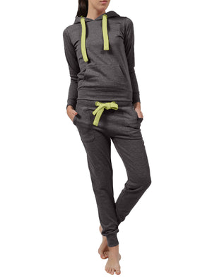 LIGHT WEIGHT FLEECE PULLOVER HOODIE AND SWEATPANTS TRACKSUIT SET NEWTS08
