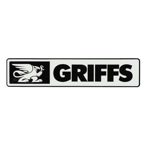 GRIFFS Stanley Decal in White