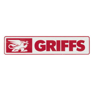 GRIFFS Stanley Decal in Dark Red