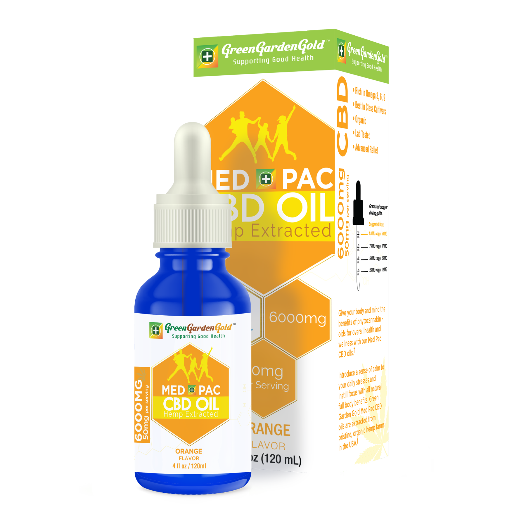 Full Spectrum CBD Oil 6000mg