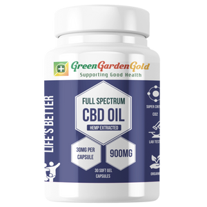 Full Spectrum CBD Softgel Capsules