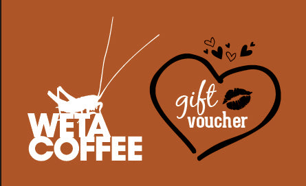 Wētā Coffee NZD Gift Voucher