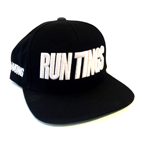 RUN TINGS Snapback by Sonny Wong