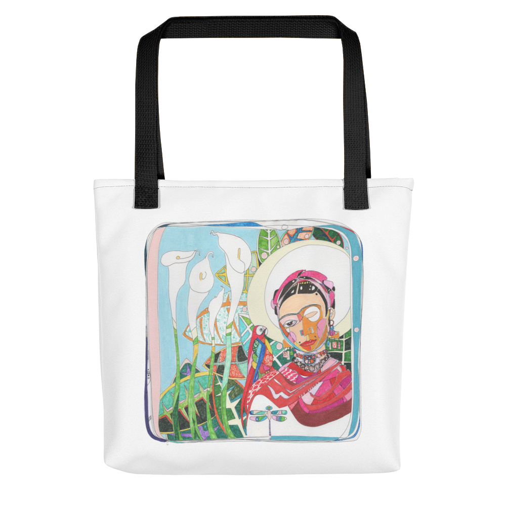 Frida by Andrei Hedstrom Tote bag