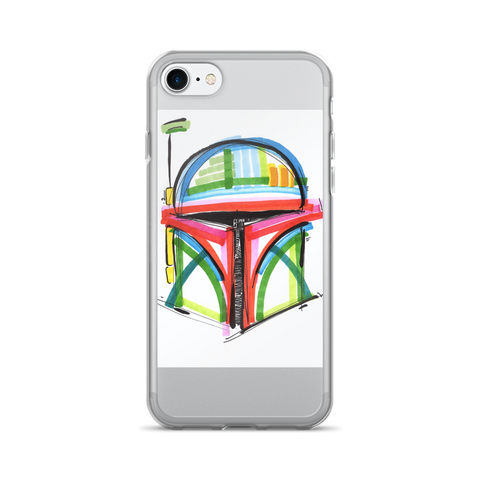Boba Fett by Andrei Hedstrom iPhone 7/7 Plus Case