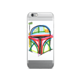 Boba Fett by Andrei Hedstrom iPhone 5/5s/Se, 6/6s, 6/6s Plus Case
