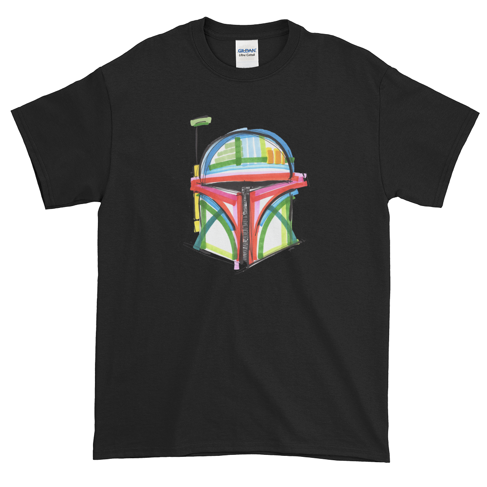 Boba Fett by Andrei Hedstrom     Short-Sleeve T-Shirt