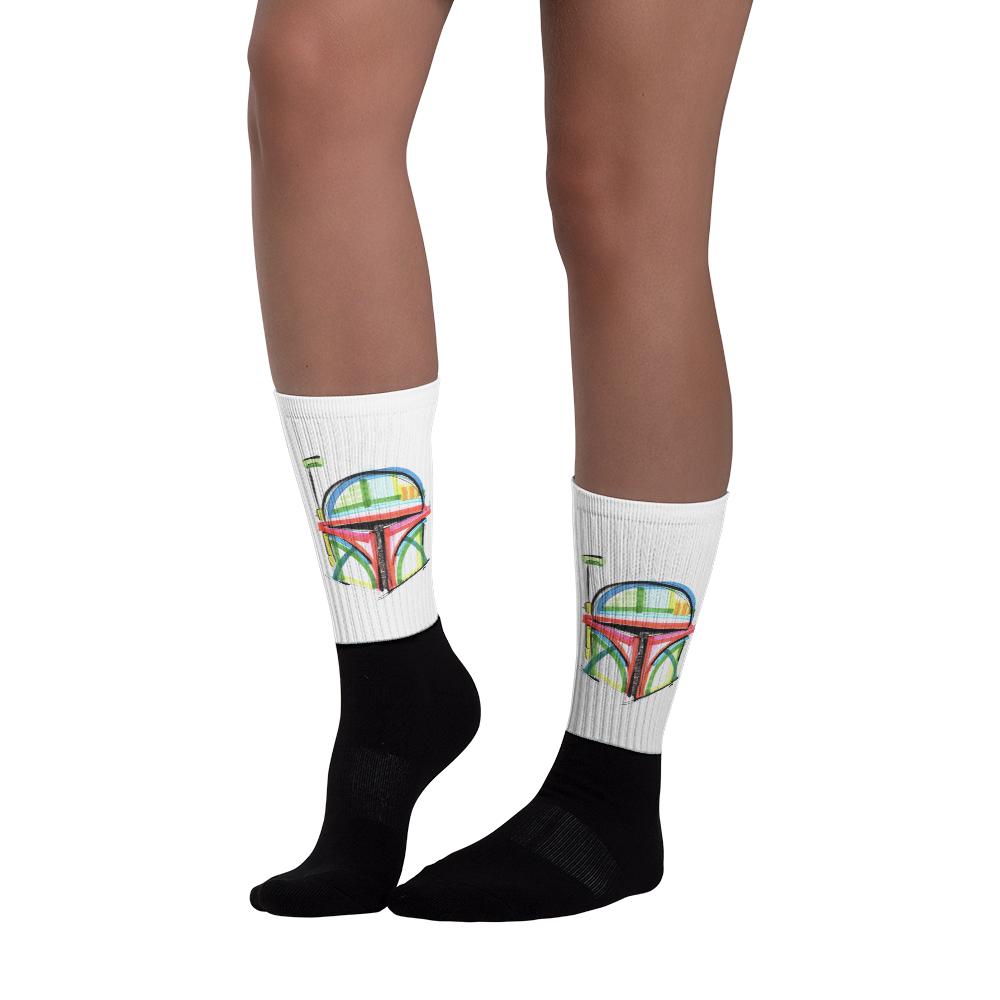 Boba Fett by Andrei Hedstrom Multi-blend Socks