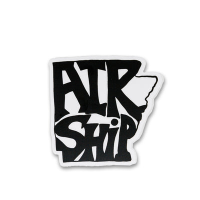 Airship in the Natural State Sticker