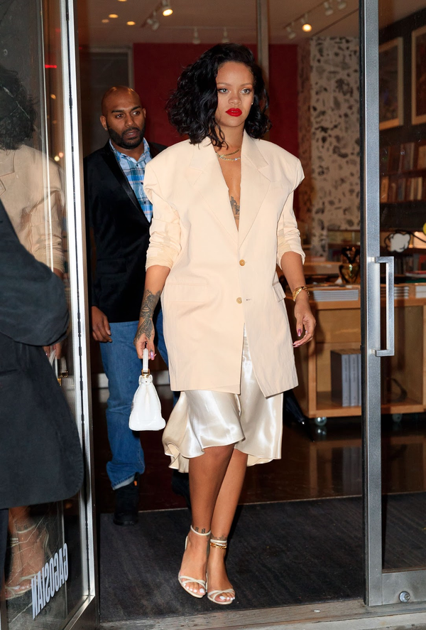 How To Wear Your Winter Sandals Like Rihanna