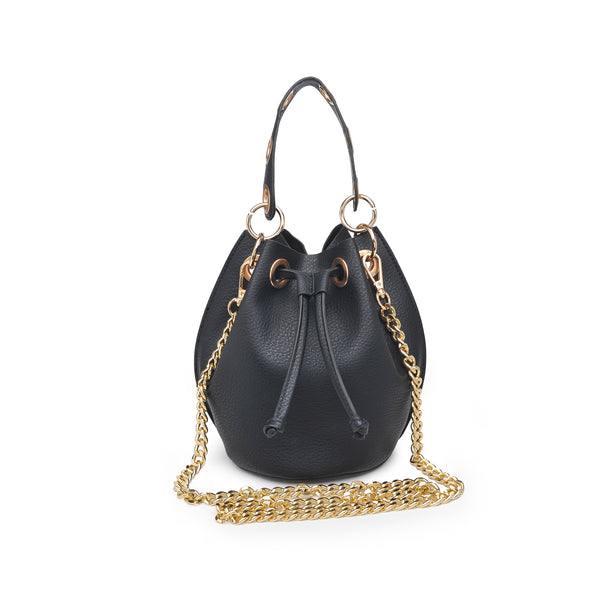 Serafina Bucket Bag (Black)