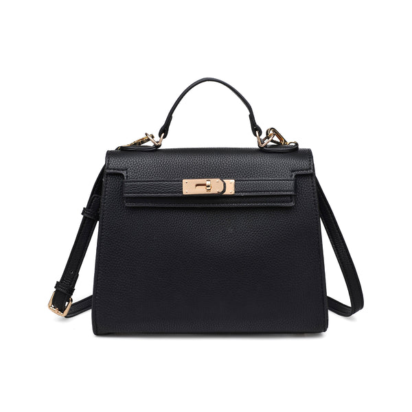 Alexis Crossbody Bag (Black)