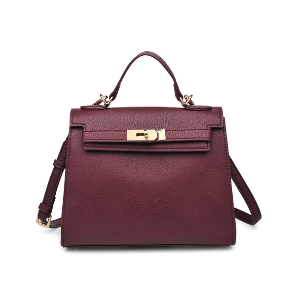 Alexis Crossbody Bag (Oxblood)
