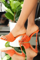 Mexmon Mules- Orange
