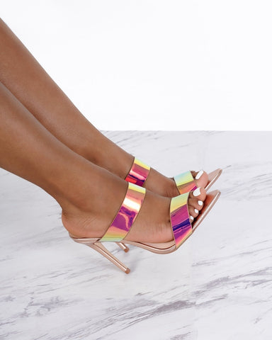 Exception Iridescent Multi-Color Mule