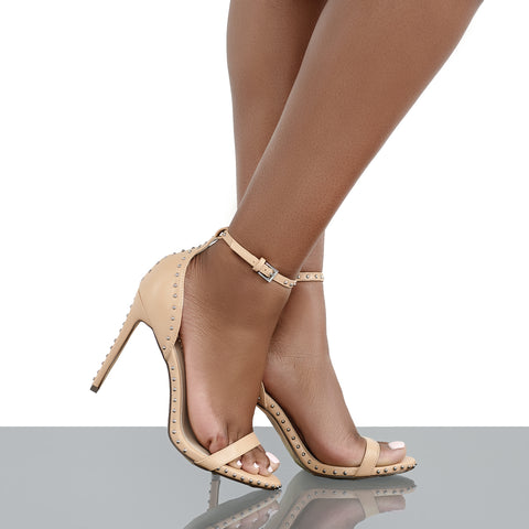 Star Studded Single Sole Heel