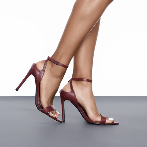 Elite Single Strap Heel
