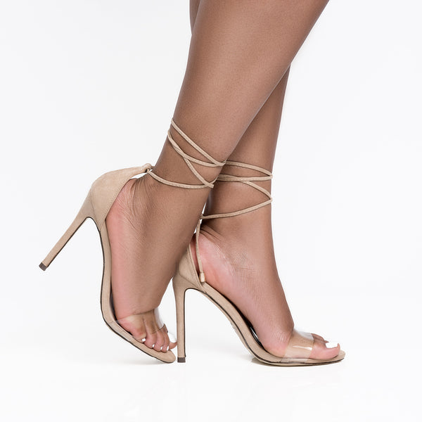 Roma Single Sole Heel (Nude)-FINAL SALE