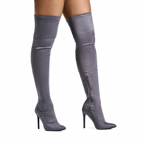 Irene Thigh High Stretch Boots