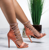 Martini Lace Up Heel