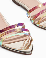 Cammy Iridescent Sandal (Gold)