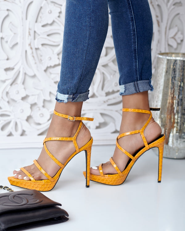Safe Word Strappy Heel