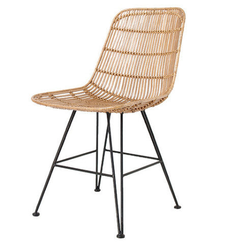 Hk Living Rattan Dining Chair Design Twins