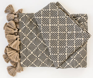 Sahara Tassel Throw
