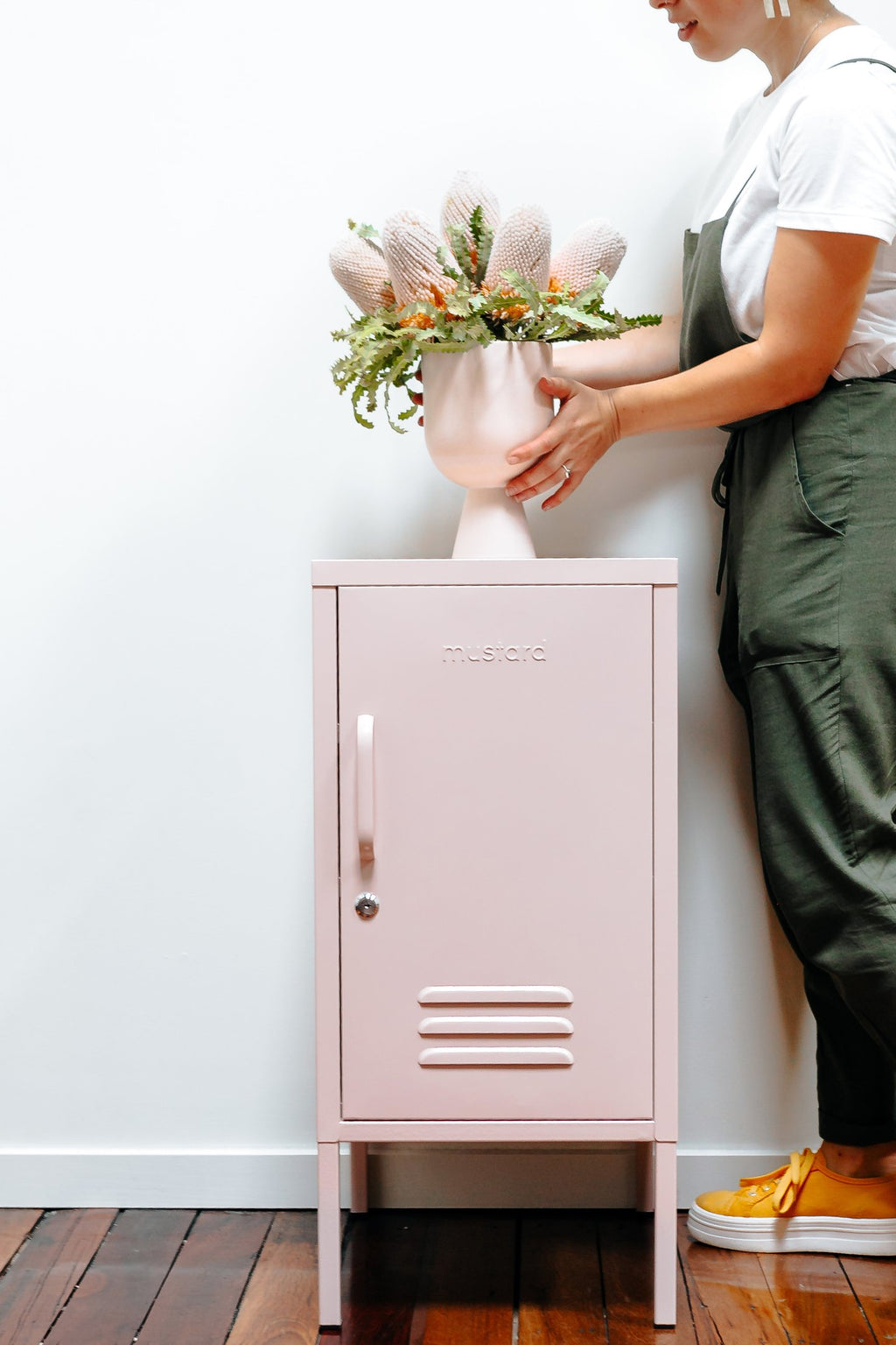 The Shorty Locker in Blush