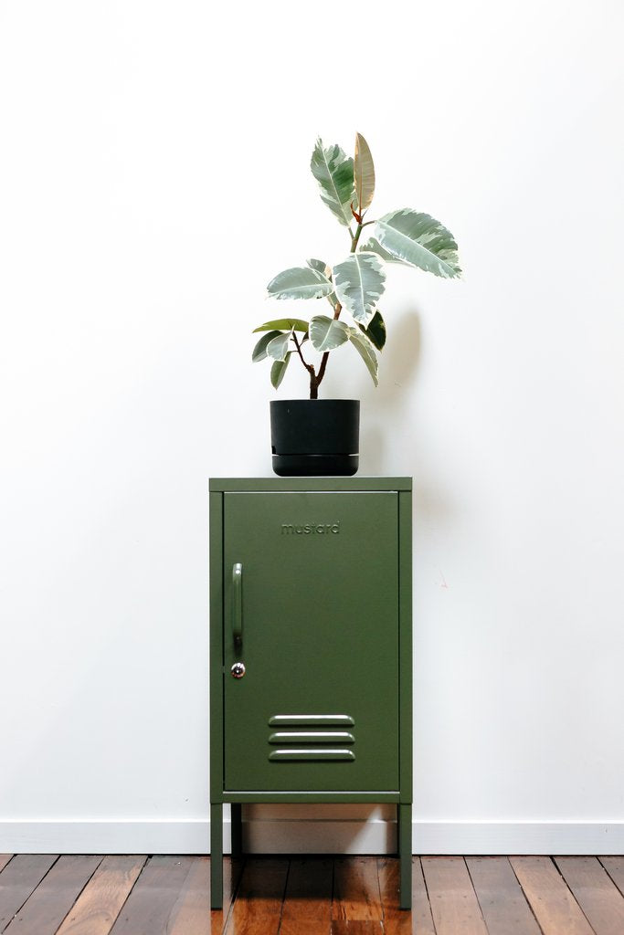 The Shorty Locker in Olive